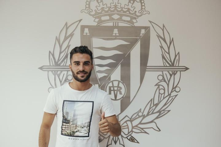 El Real Valladolid rescinde el contrato de Doncel. RealValladolid