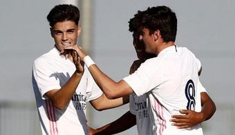 Miguel Gutiérrez a convaincu Ancelotti. RealMadrid