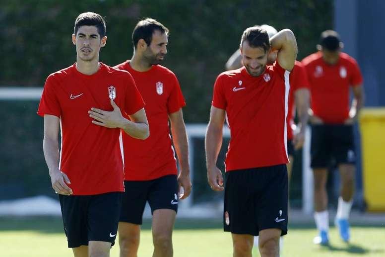 Carlos Fernández podrá jugar ante el Sevilla. GranadaCF
