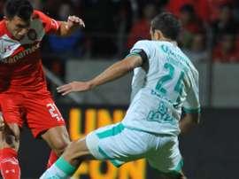 Santos Laguna tendrá que marcar en el partido de vuelta para pasar a las semifinales. AFP