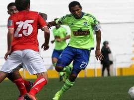Carlos Lobatón consiguió con sus dos tantos el empate de Sporting Cristal frente a Cienciano. SportingCristal