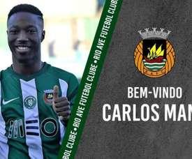 Carlos Mané continuera sa carrière au Portugal. RioAve