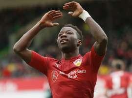 Emprestado pelo Sporting ao Estugarda, Mané levava 6 golos em 20 jogos pelos alemães. Estugarda