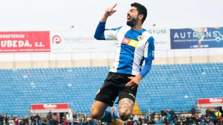 Carlos Martínez, confiado. Twitter/CFHércules