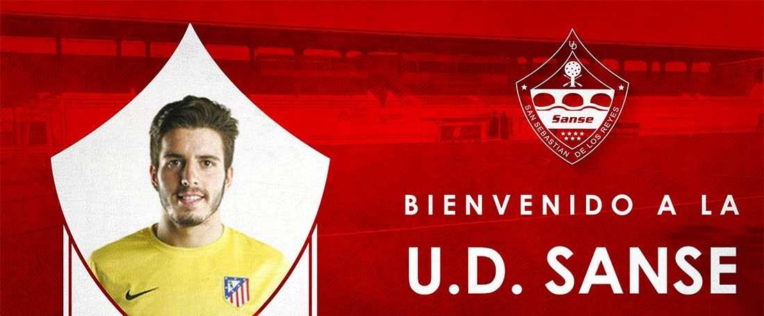 Morales militó durante la pasada temporada en las filas del Guijuelo. UDSanse