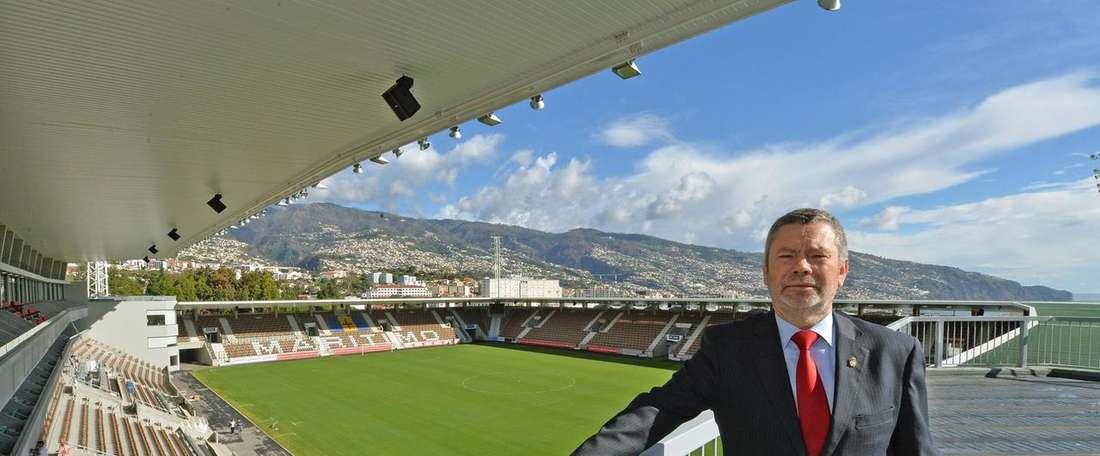 Líder dos insulares quer uma equipa pronta para chegar à Fase de Grupos da Liga Europa. Facebook