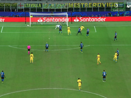 Carles Perez ha aperto le marcature. Movistar+LigadeCampeones