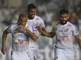 Santos deja atrás los sustos. SantosFC