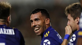 Tévez sigue luchando por esta Superliga. BocaJuniors