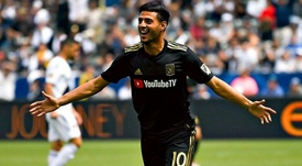Carlos Vela hizo historia en la MLS. EFE