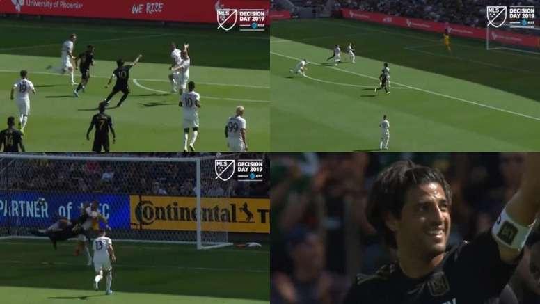 Carlos Vela se reivindicó como el 'MVP' de la temporada. Twitter/MLS