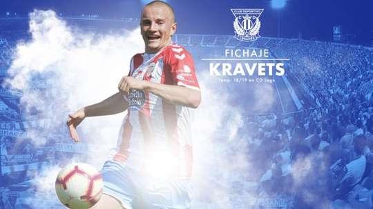 Kravets firma hasta 2023. CDLeganes