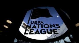 Cartel de la Liga de Naciones. UEFA