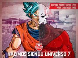 Dragon Ball y fútbol no son incompatibles. Twitter/MinerosFC