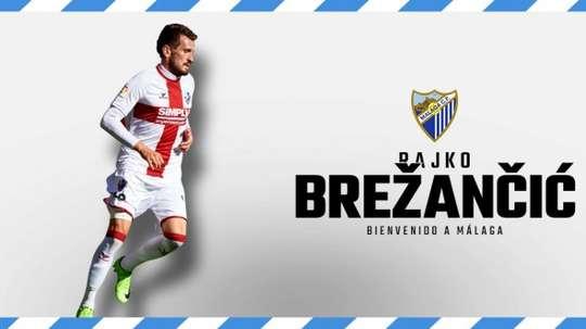 Brezancic llega al Málaga. MalagaCF