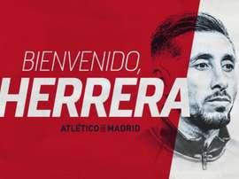 Herrera has joined Atlético. Atleti
