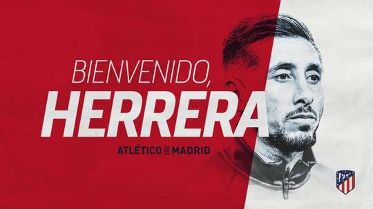 Herrera has joined Atlético. Atleti