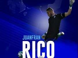 Juanfran Rico llega a El Palo. ElPaloFC