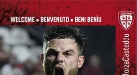 Nandez signe à Cagliari. CagliariCalcio
