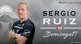 Sergio Ruiz reforzará la meta del Ontinyent. Ontinyent CF
