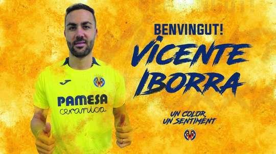 Iborra jugará en el Villarreal. Twitter/VillarrealCF