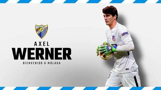 Werner ya es del Málaga. MalagaCF