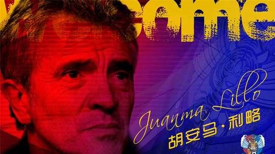 Juanma Lillo y otro reto en Asia. Qingdao Huanghai