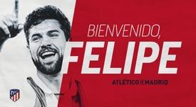 Felipe arrive à l'Atlético. Atleti