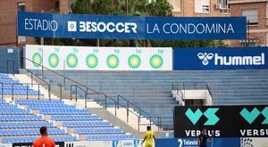 El UCAM Murcia estrenó el BeSoccer La Condomina con una victoria. Twitter/UCAMMurciaCF