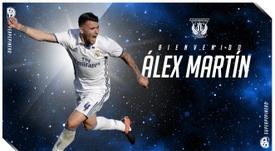 Alex Martin signe à  Leganés. CDLeganés