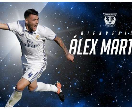 Alex Martin has signed a two year deal with Leganes. CDLeganes