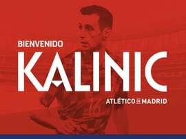 Atleti confirm Kalinic. GOAL