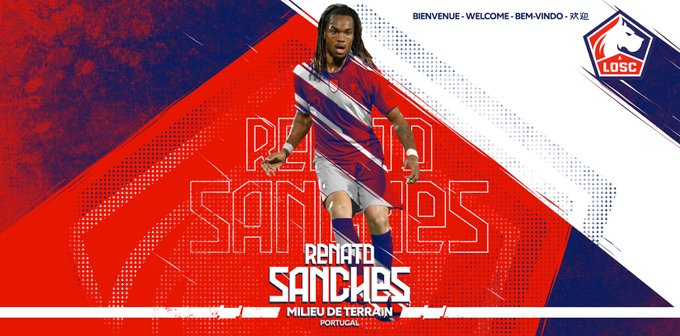 Renato Sanches llega al Lille. Losclive