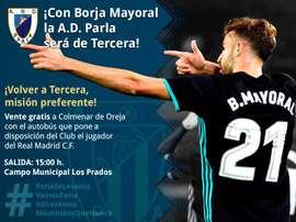 Detallazo de Borja Mayoral. Twitter/adparla