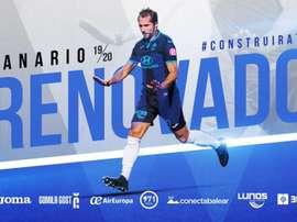 Canario prolonge à l' Atlético Baleares. EFE