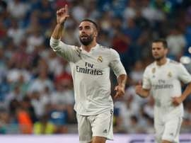 Dani Carvajal has expressed his desire to one day play in the Premier League. TWITTER/RMCF