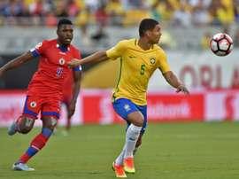 Casemiro, uno de los jugadores que irrumpió en la Copinha. AFP