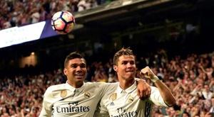 Casemiro praised former teammate Ronaldo. AFP