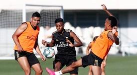 El Madrid ofreció a Rodrygo al Espanyol. RealMadridCF