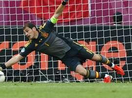 Casillas no le cierra las puertas a la Selección. RFEF