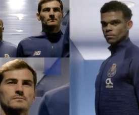 Casillas est toujours incertain sur son avenir. Twitter/FCPorto