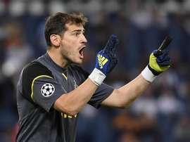 Casillas foi titular frente ao Portimonense nesta sexta-feira. EFE