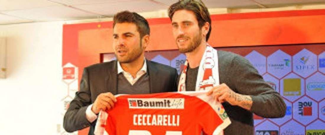 Ceccarelli inicia una nueva etapa en el fútbol rumano. Bucarest