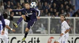 Figo fala sobre Cristiano Ronaldo. EFE
