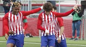 Cedric ne veut pas se comparer à d'autres joueurs. AtléticodeMadrid/Alberto Molina
