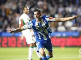 Carlos Fernández auguró un partido duro en el Nuevo Arcángel. LaLiga