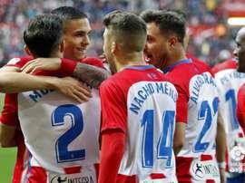 El Sporting superó por la mínima al Granada. LaLiga