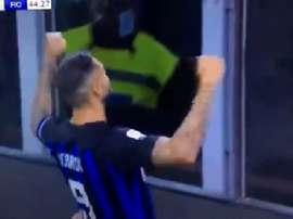 Icardi a marqué. Capture
