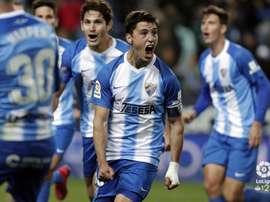 El Málaga se impuso por la mínima al Cádiz. LaLiga