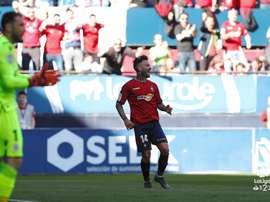 Osasuna venció al Deportivo. LaLiga